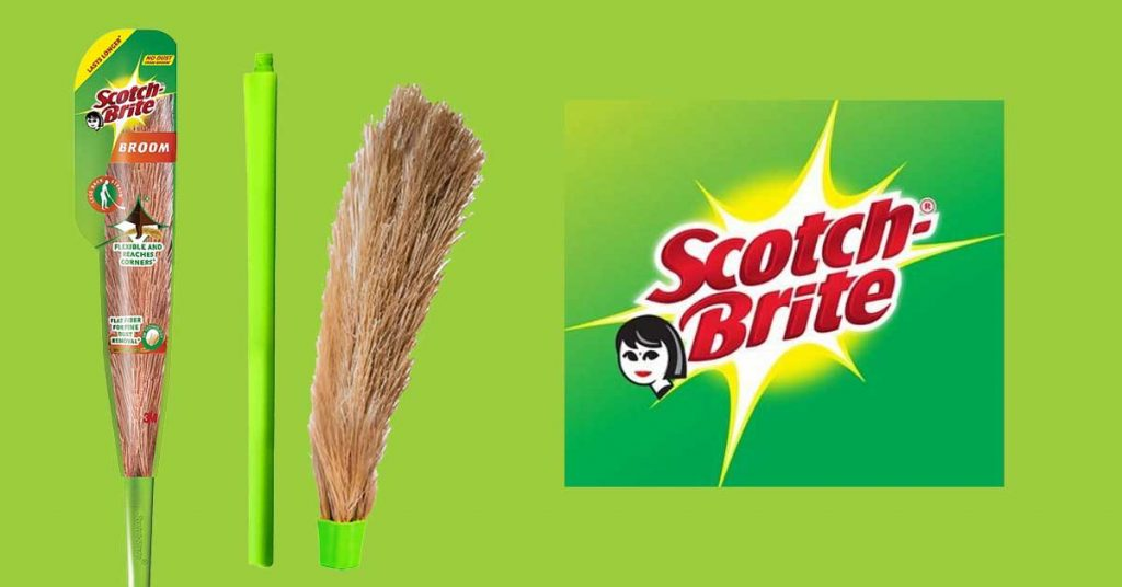 Scotch-Brite No-Dust Broom full product review
